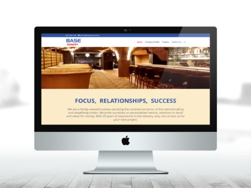 Base Joinery website