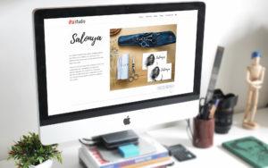Salonya Portfolio Page
